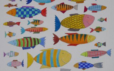 Océan multicolore